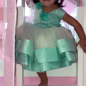 Itty bitty toes Tiffany dress